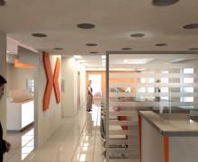 Atendimento loja Nextel - arquitetura - varejo - espaços comerciais