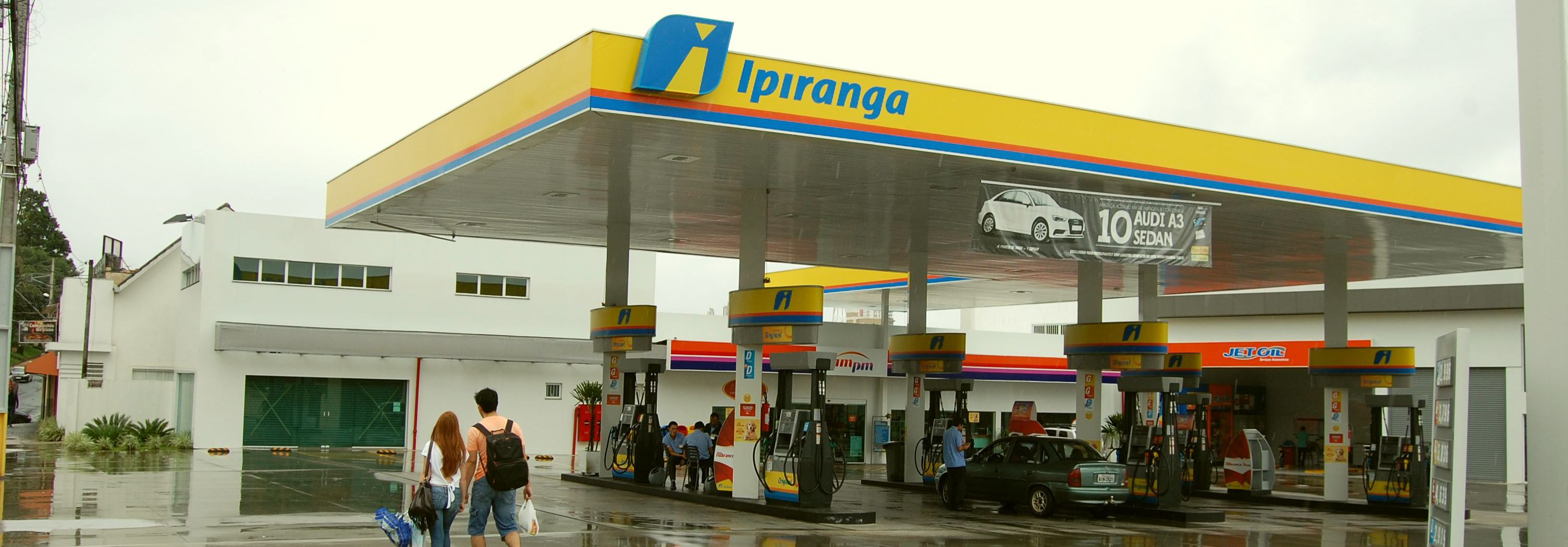 Posto Ipiranga Rio Branco - foto externa