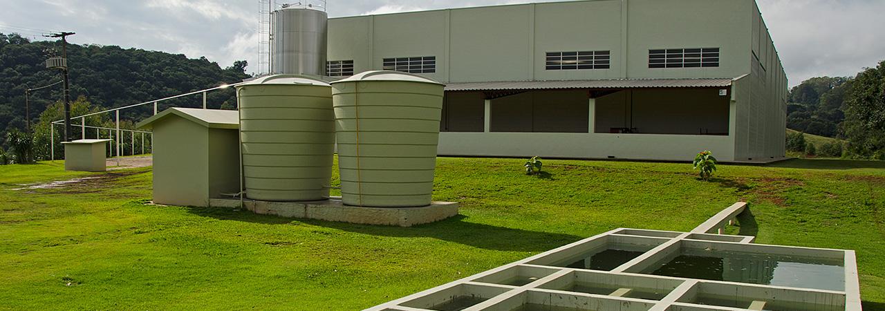 Projeto de indústria de água mineral - Aquadio - Indústria Radiante