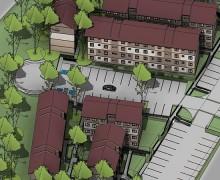 Conjunto habitacional - habitação popular - edifício residencial - projeto mercado imobiliário