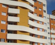 Fachada edifício residencial - projeto mercado imobiliário