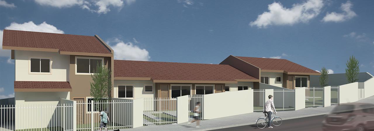 Projeto arquitetura residências em série em BIM - mercado imobiliário