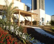 Stand de vendas Abyara - Botânica